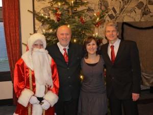 Weihnachtsfeier mit Lioba und Hubert Grunow (Foto: privat)