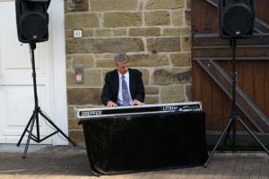 Pianist Schlossterrasse