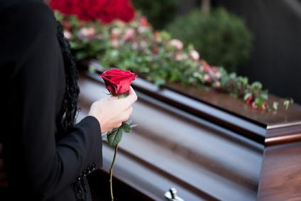 Beerdigung - am Grab