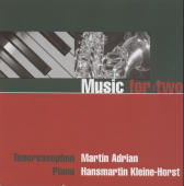 Music for two - CD Piano & Saxophon